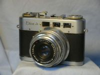 '      Diax Ib c/w F2.8 45MM -NICE SET- ' Diax Ib Vintage Camera c/w 45mm F2.8 XENAR £59.99